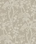 Mistral East West Style Wallpaper Bonsai 2764-24353 By A Street Prints For Brewster Fine Decor
